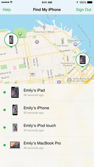 iPhone keresése funkció - Re-store