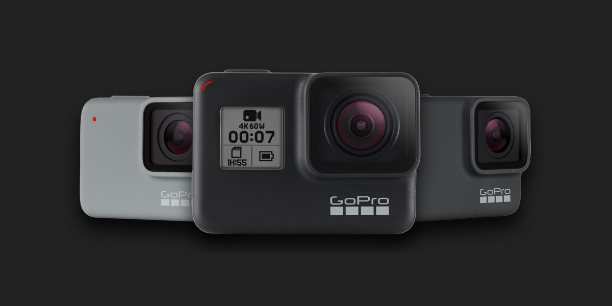 GoPro HERO7 Black, Silver, White - Re-store
