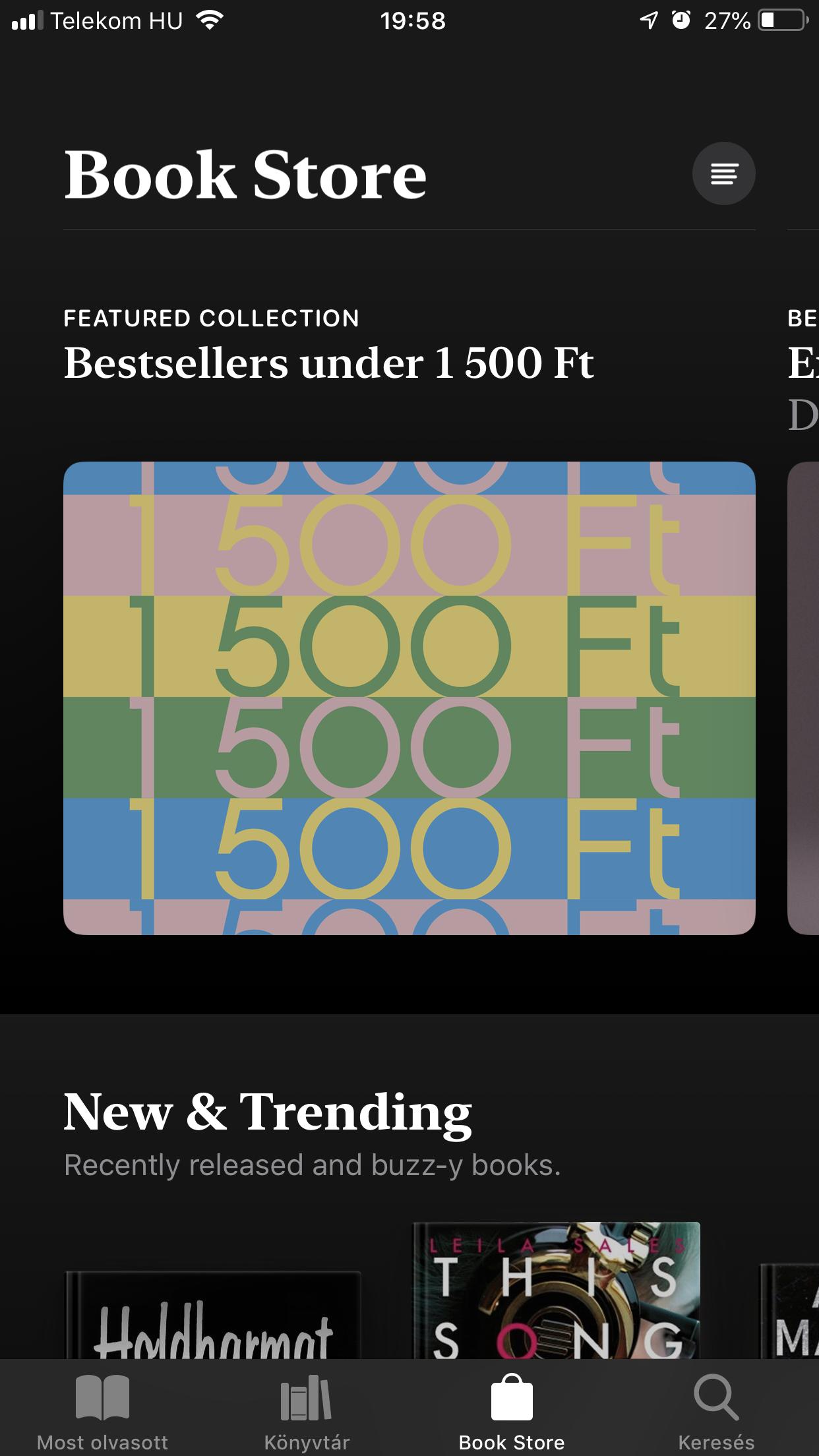 iBooks iOS12 - Re-store