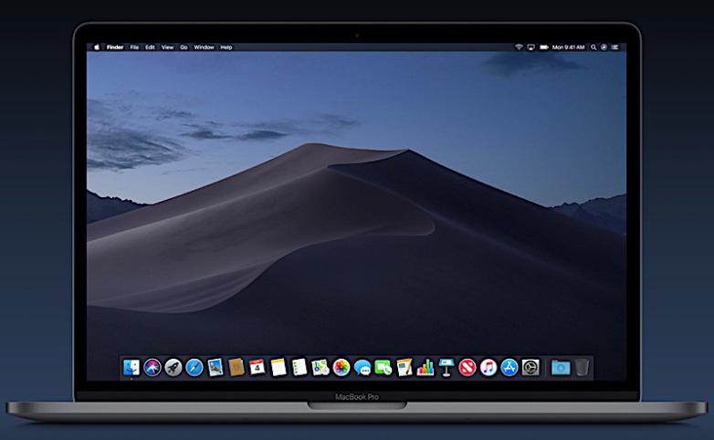 macOS Mojave dinamikus asztal - Re-store