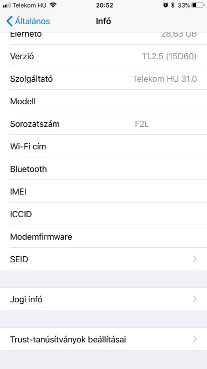 iPhone garancia ellenőrzése - Re-store